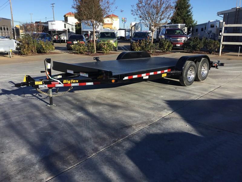 New 2019 Big Tex 10DM-18 7x18 10K Car / Racing Trailer in Ashburn, VA
