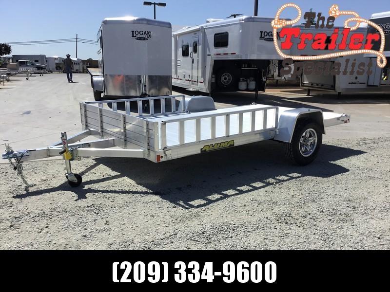 New 2019 Aluma 8112 81'x12' Aluminum Utility Trailer