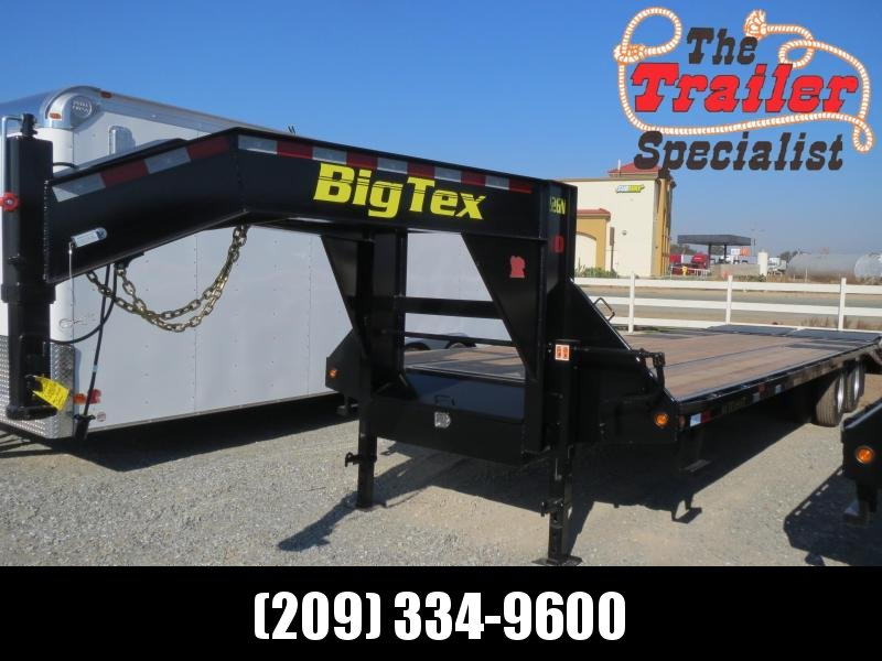 New 2018 Big Tex 22GN-25+5MR 25'+5' dovetail 23900# GVW GN Trailer Vin:25729