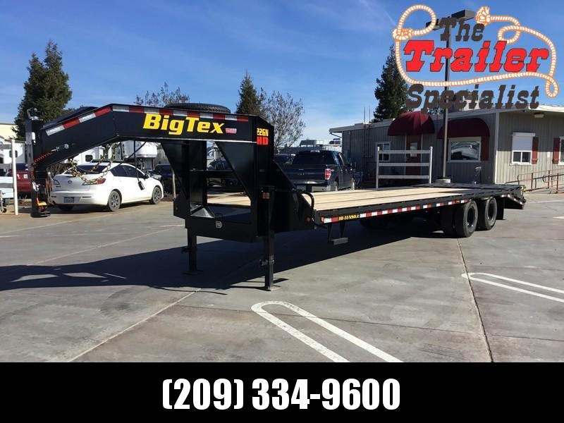 New 2019 Big Tex 22GN-25+5MR 25'+5' dovetail 23900# GVW GN Trailer in Ashburn, VA