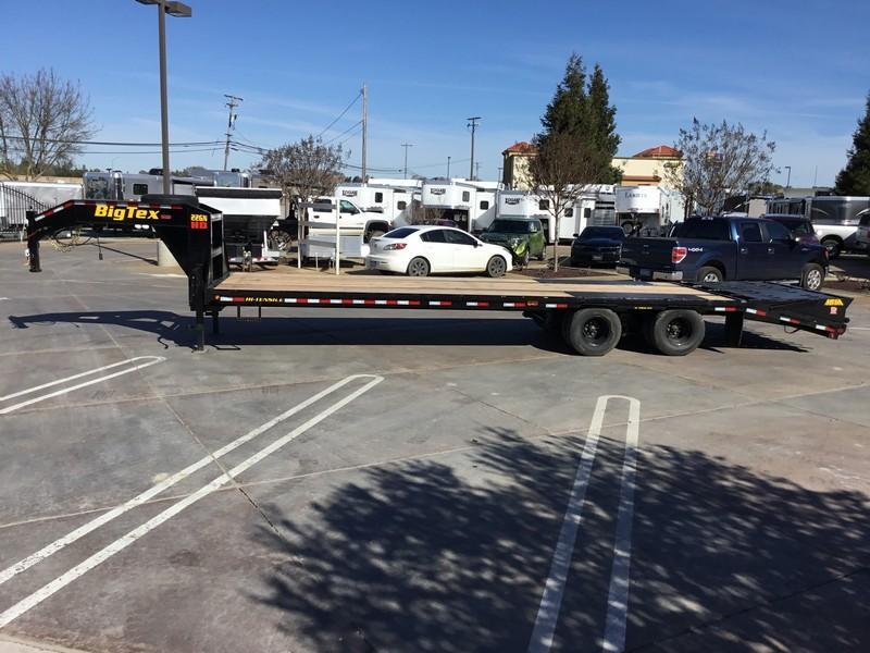 New 2019 Big Tex 22GN-25+5MR 25'+5' dovetail 23900# GVW GN Trailer