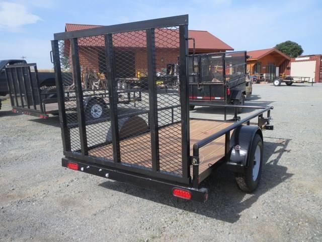 NEW 2019 Big Tex Trailers 30SA-10 5x10 Utility Trailer