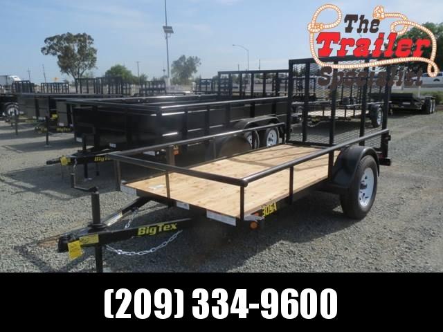 NEW 2019 Big Tex Trailers 30SA-10 5x10 Utility Trailer