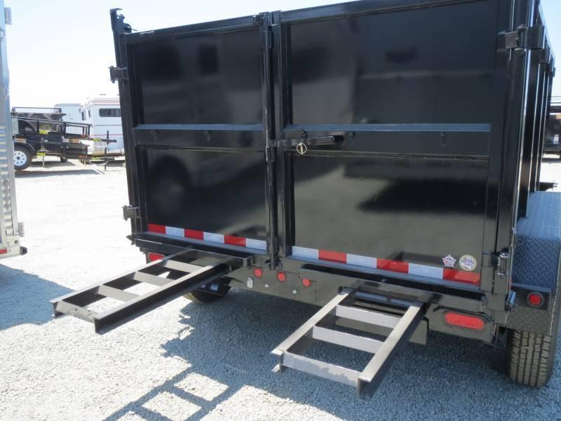 New 2019 Big Tex 14LX-12P4 7x12 4' sides Dump Trailer 14K