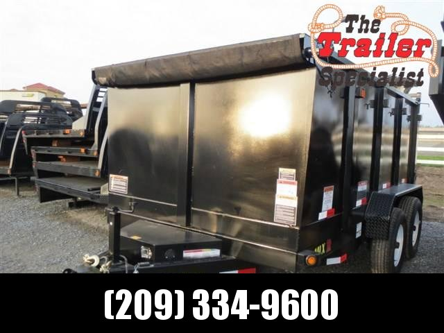 2018 Big Tex 14LX-12P4 7x12 4' sides Dump Trailer 14K VIN:99623