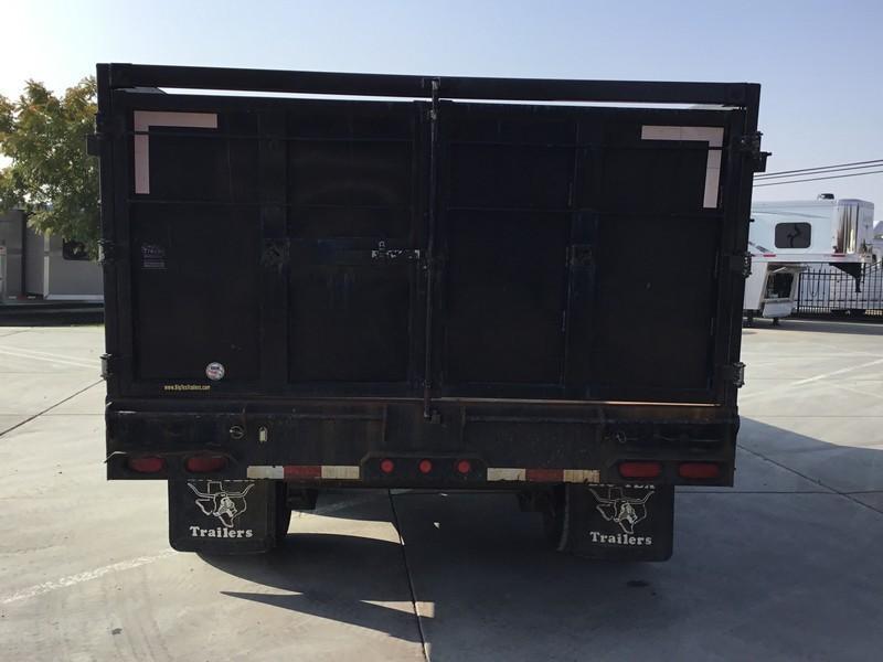 Used 2008 Big Tex 25DU-18 25900 GVW 8.5x18 Dump Trailer