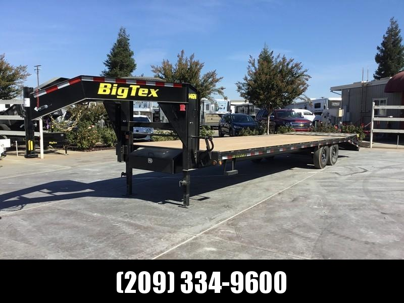 "NEW 2019 Big Tex 14GN-25+5MR 14K GVW 102""x35' Equipment Trailer in Ashburn, VA"