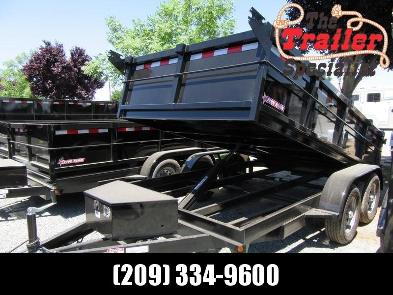 New 2019 Five Star DT212 D7 6x12 Dump Trailer