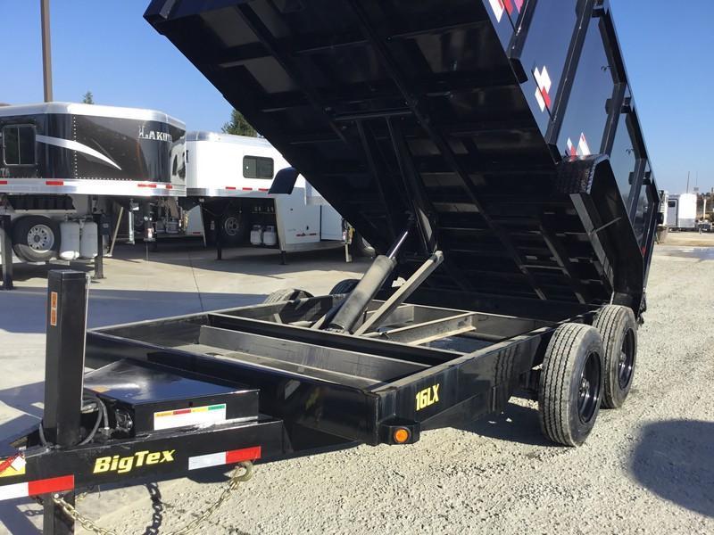 New 2018 Big Tex 16LX-14P4HJ 17.5K GVW 7x14 4' sides Dump Trailer