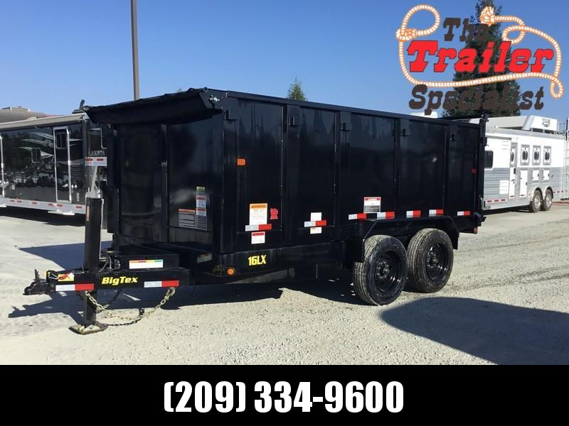 New 2018 Big Tex 16LX-14P4HJ 17.5K GVW 7x14 4' sides Dump Trailer