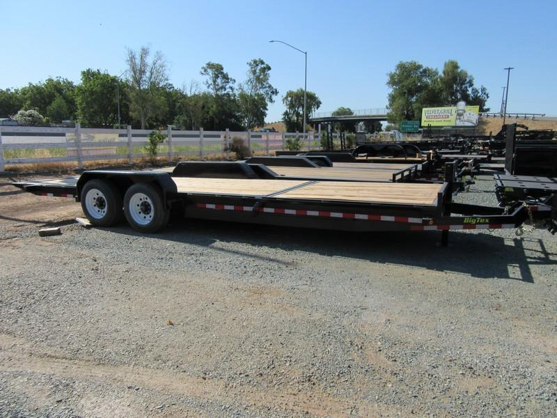 New 2017 Big Tex 16TL-24 7x24' Tilt Equipment Trailer Vin50114