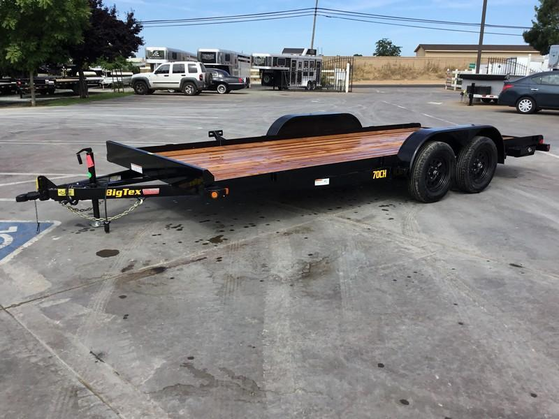 New 2020 Big Tex 70CH-18BRK2 7x18 7K GVW Car/Racing Trailer in Ashburn, VA