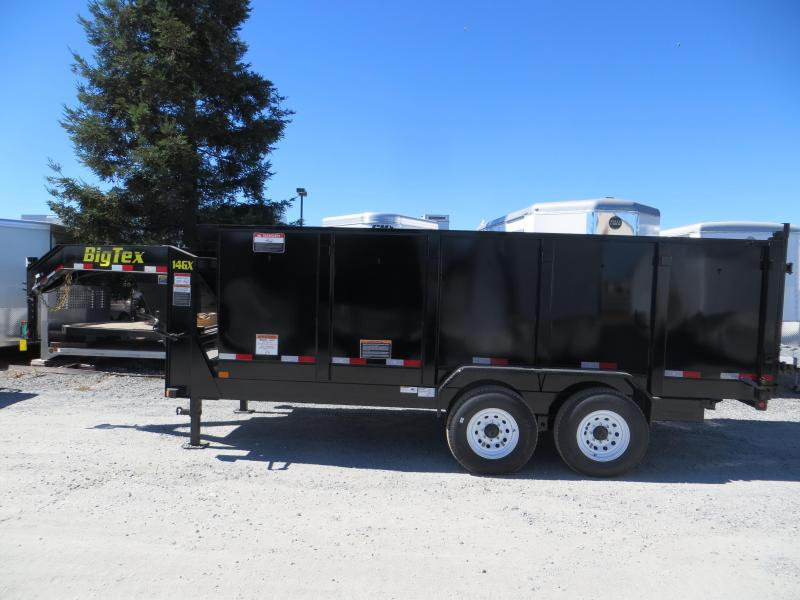 New 2019 Big Tex 14GX-16P4 7x16 14K 4' sides Dump Trailer Vin 08634