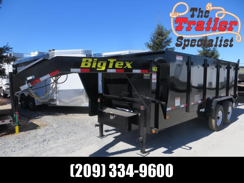 New 2019 Big Tex 14GX-16P4 7x16 14K 4' sides Dump Trailer Vin 08634 in Ashburn, VA