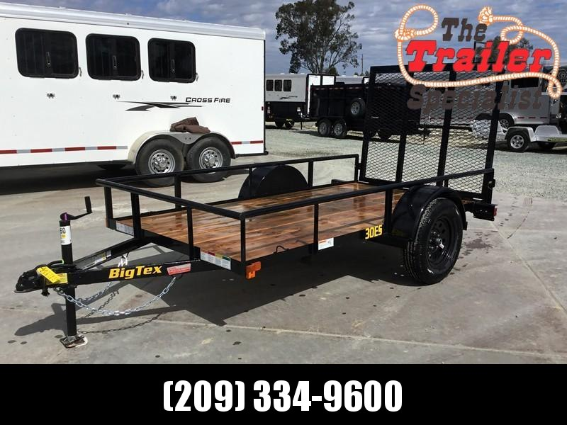 New 2019 Big Tex 30ES-10 Economy Utility Trailer