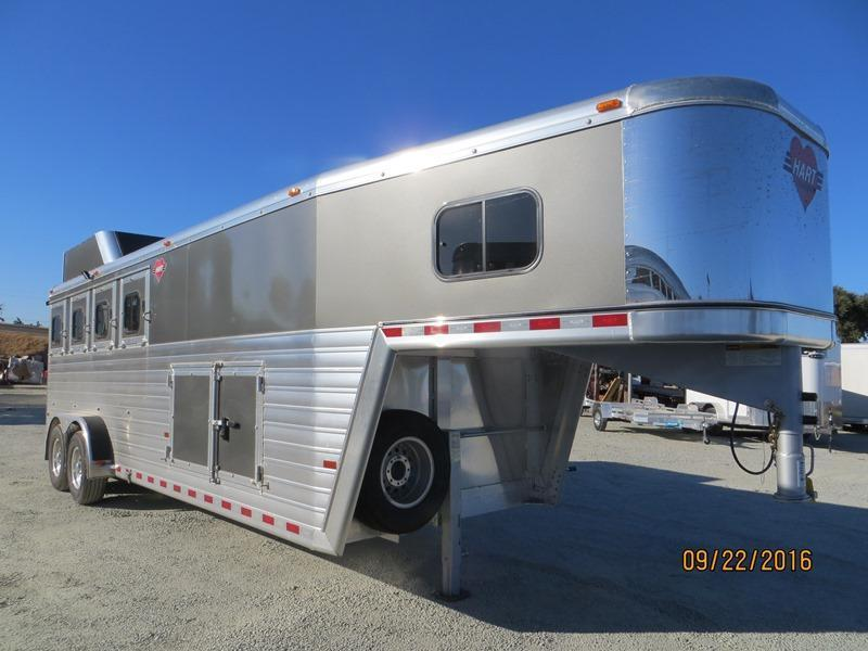 New 2017 Hart Tradition Horse Trailer 4H Smart Storage VIN:51064 in Ashburn, VA