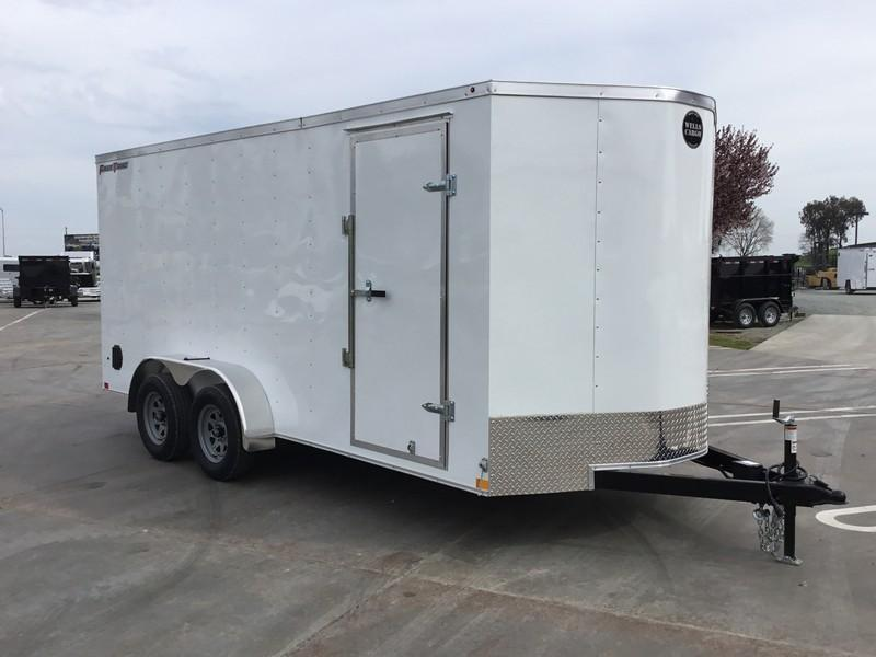 New 2019 Wells Cargo FasTrac FT716T2 7x16 Enclosed Cargo Trailer