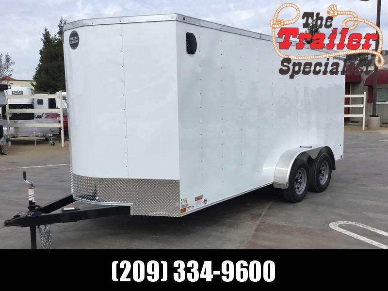 688dcca696 New 2019 Wells Cargo FasTrac FT716T2 7x16 Enclosed Cargo Trailer