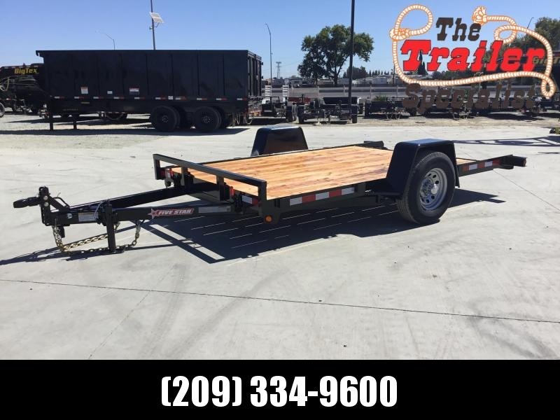 New 2020 Five Star ET305 5K 6.5x12 Tilt Utility Trailer