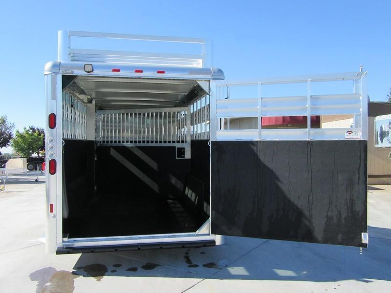 New 2018 Hart Lariat Stock Combo Livestock Trailer Vin 51027