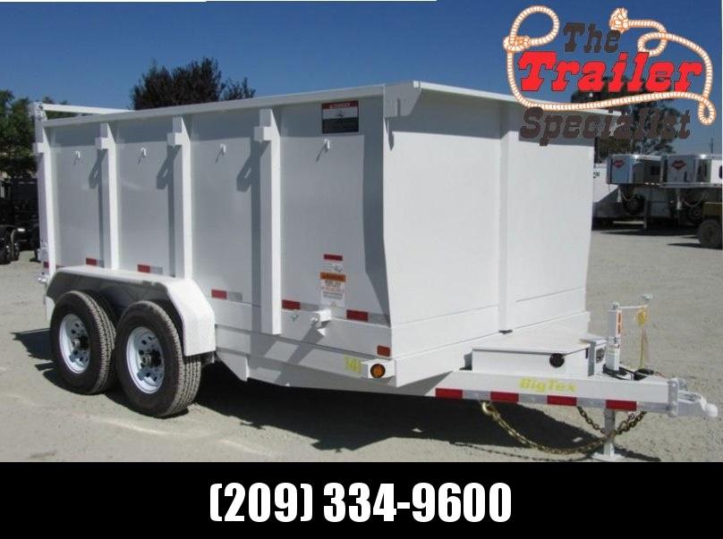 2018 Big Tex 14LX-12P4 7x12 4' sides Dump Trailer 14K VIN:93710