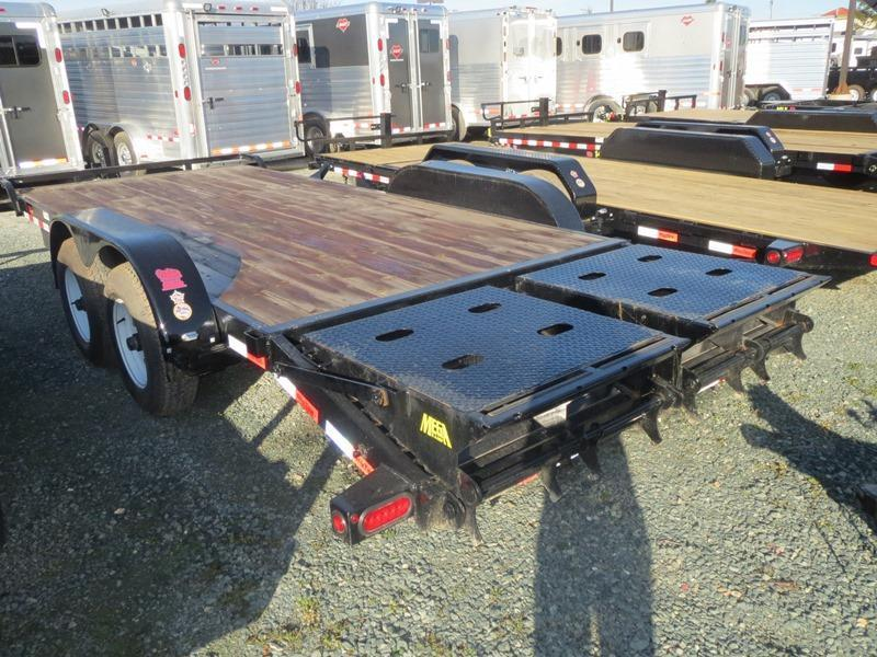New 2020 Big Tex 10ET-18MR Equipment Trailer 7X18 10K GVW