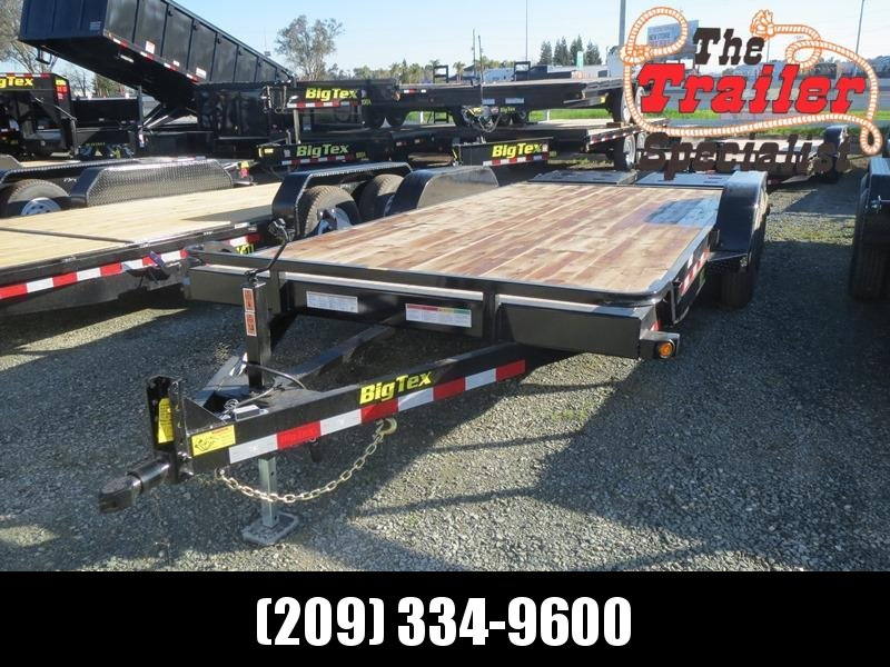 New 2018 Big Tex 10ET-18MR Equipment Trailer 7X18 10K GVW in Ashburn, VA