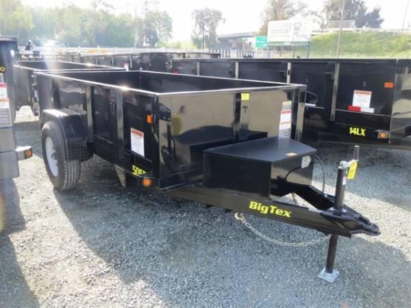 2017 Big Tex 50SR-10-5W 5x10 Dump Trailer
