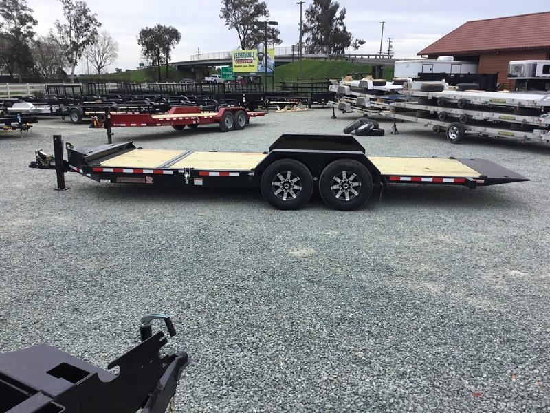 NEW Heavy Duty 2019 Midsota TB-20 7x20 15400 GVW Equipment Trailer