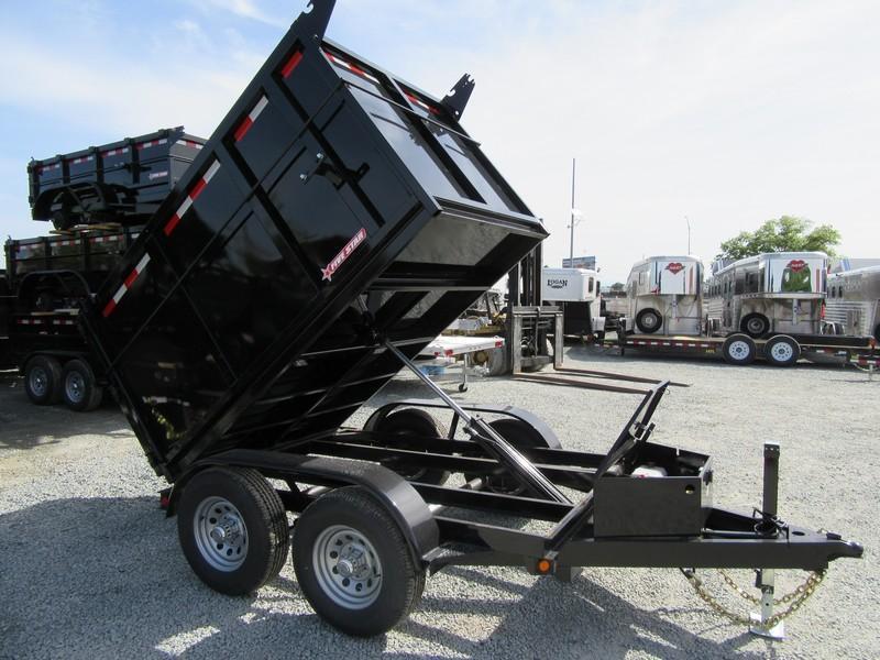 New 2018 Five Star DT292 D105x8 10K Dump Trailer 4'sides