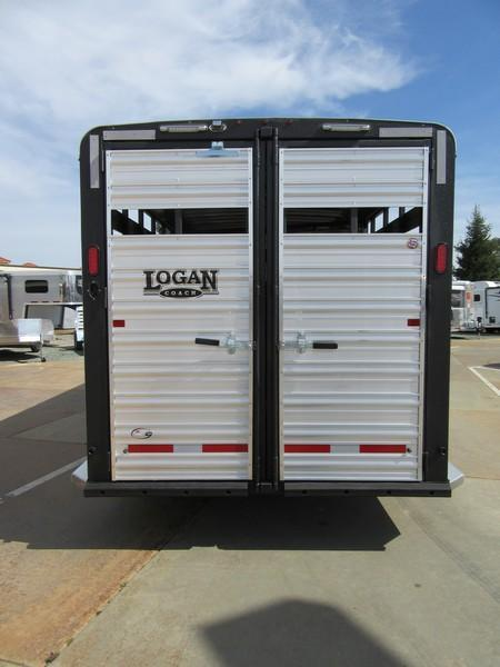 New 2018 Logan Stockman Combo 22' GN Livestock Trailer vin 06255