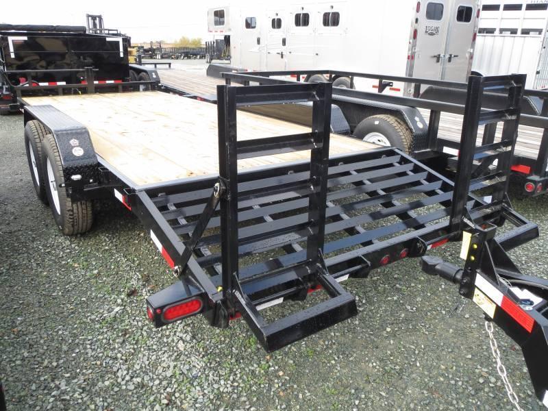 New 2018 Big Tex 14ET-20KR 14k 7x20 Equipment Trailer Vin25015
