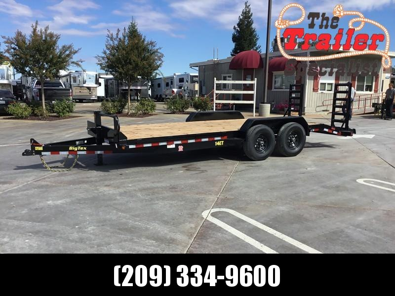 NEW 2019 Big Tex 14ET-20KR 14k 7x20 Equipment Trailer in Ashburn, VA