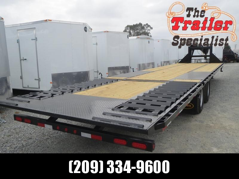 "New 2018 Big Tex 22GN-35HDT Equipment Trailer 102""x35' 22k VIN 95049"