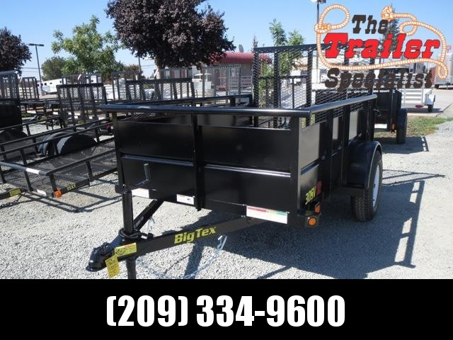 New 2019 Big Tex 30SV-08 5x8 Utility Landscape Trailer