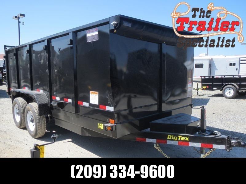 New 2018 Big Tex 14LX-16P4 Dump Trailer 7X16 14K 4' sides