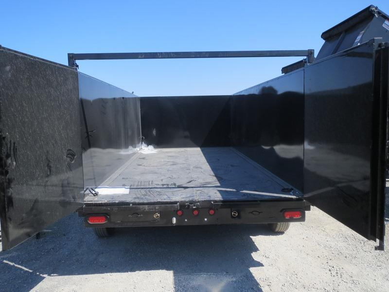New 2019 Big Tex 14LX-16P4 Dump Trailer 7X16 14K 4' sides