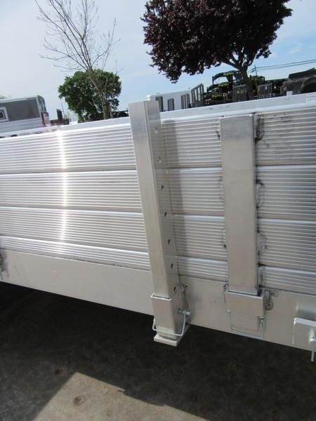 "New 2019 Aluma 8115SR Aluminum Utility Trailer 81""x15'"