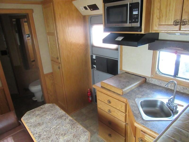 Preowned 2005 Hart Ultimate 4H 12 LQ Horse Trailer VIN 51386