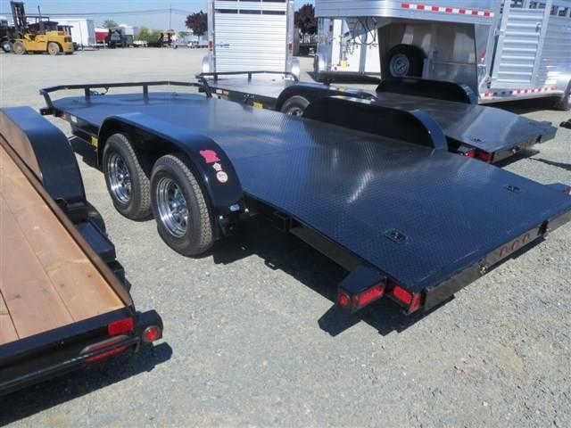 New 2018 Big Tex 70DM-18 7x18 Car/Racing Trailer Vin08241