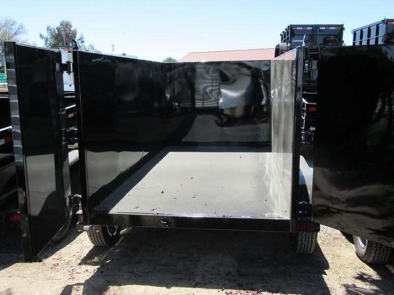 New 2019 Five Star DT098 5x10 7K GVW Dump Trailer