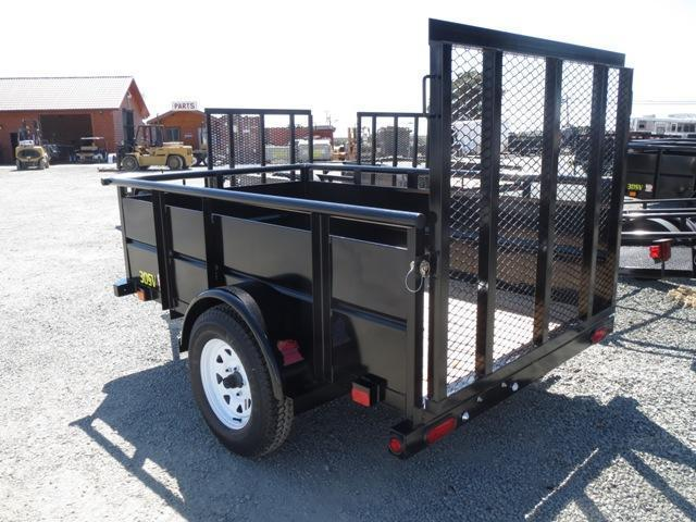 New 2018 Big Tex 30SV 5' wide Utility Trailer