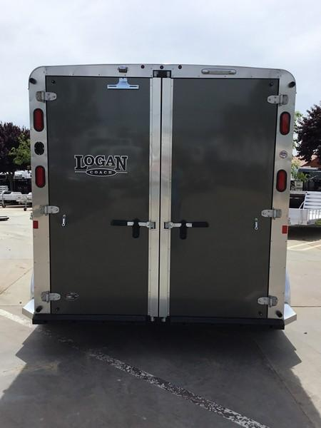 New 2018 Logan Coach Rampage 2-Horse BP Horse Trailer