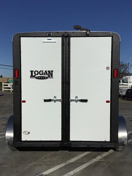 NEW 2019 Logan Bullseye 2H Bumper Pull Horse Trailer
