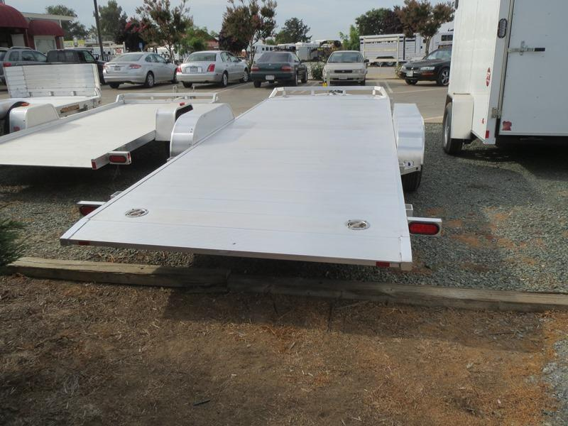 "New 2019 Aluma 8218Tilt 81""x18' Car / Racing Trailer"