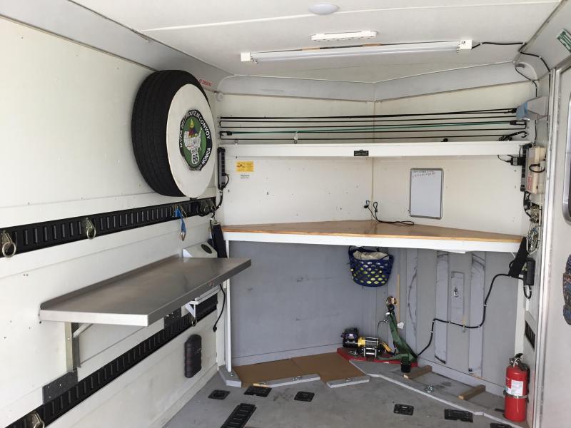 USED 2015 Look Trailers VWLC7x14TE2 Enclosed Cargo Trailer
