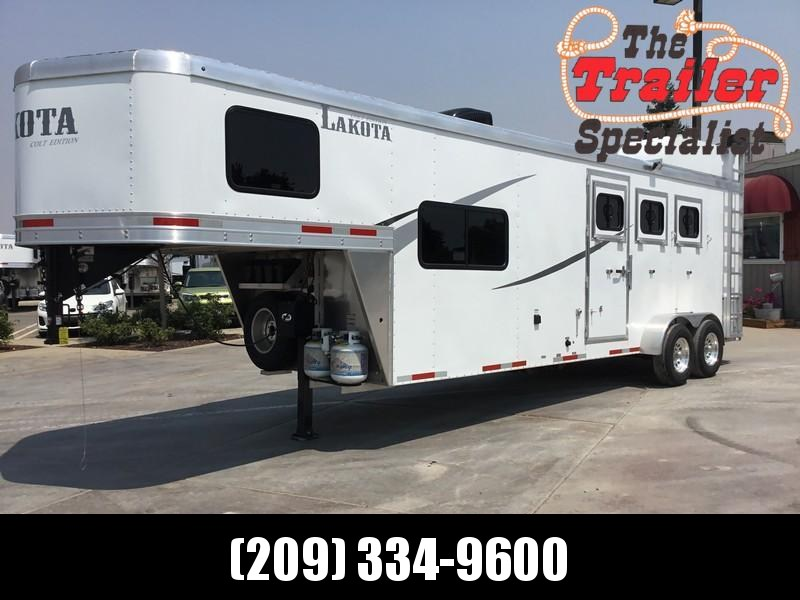 NEW 2019 Lakota Corp 3H Alum Colt GN LQ Horse Trailer in Ashburn, VA