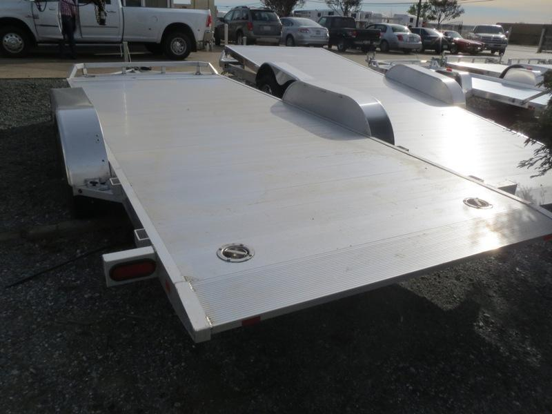 "New 2019 Aluma 8216Tilt 82""x16' Car Hauler Trailer"