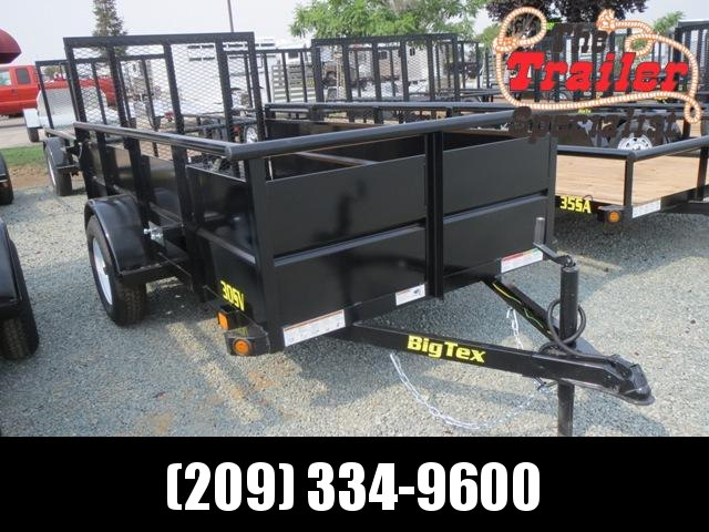 NEW 2019 Big Tex 30SV-10 5x10 Utility Trailer