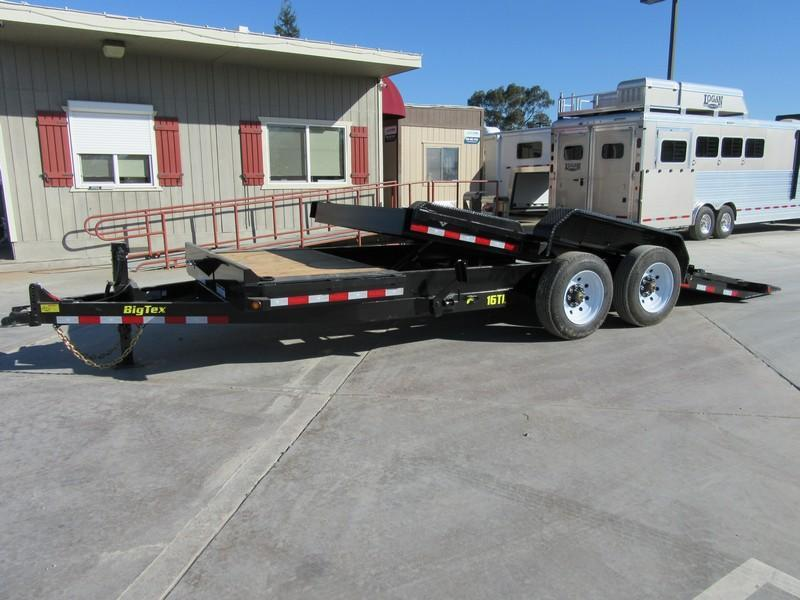 "New 2018 Big Tex Trailers 16TL-20 Equipment Trailer 81""X20' 16K VIN:12055"